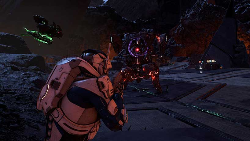 Battle in Mass Effect: Andromeda