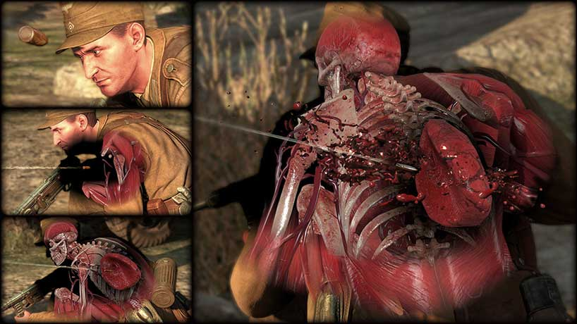 Sniper Elite 3 - X-Ray Kill